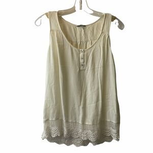 Denver Hayes tang top blouse size small